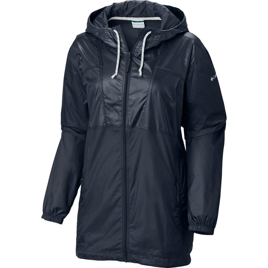 Columbia Flashback Long Windbreaker - Womens