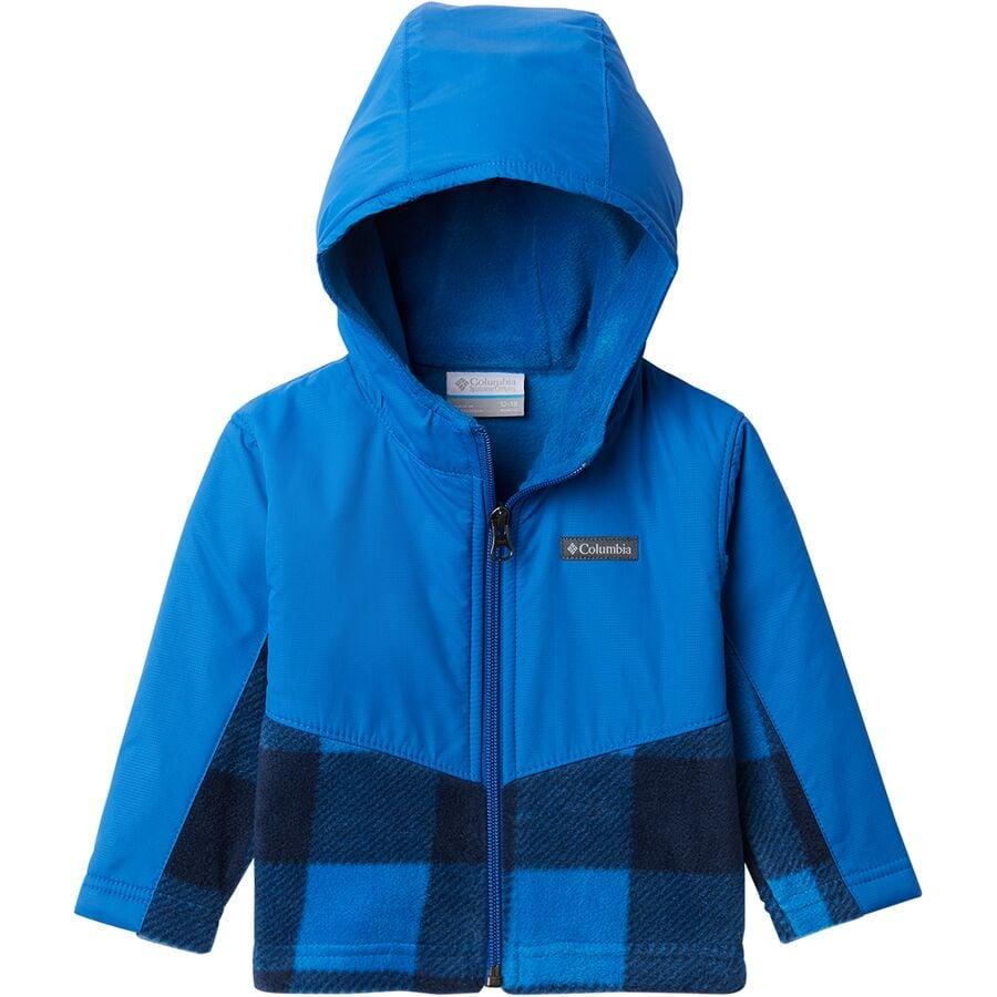 Columbia Steens Mt Overlay Hooded Fleece Jacket - Toddler Boys