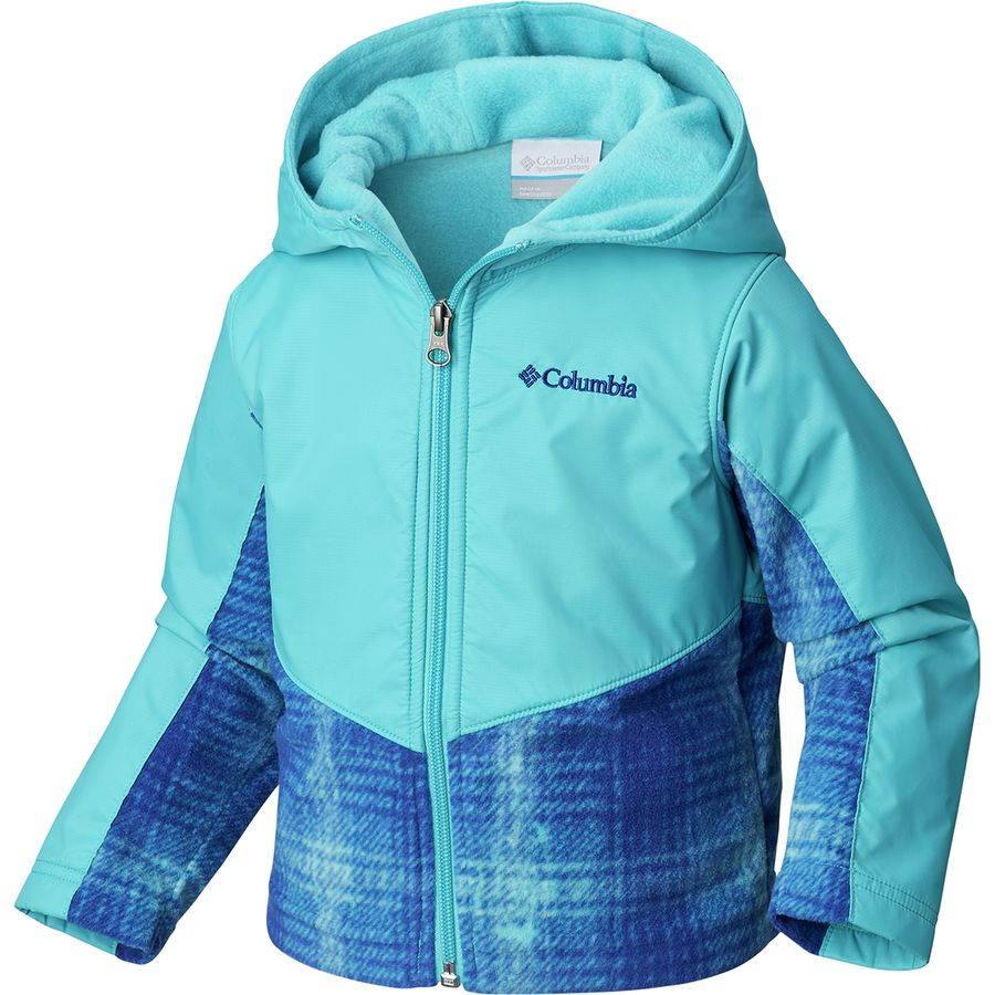 62c841b29 Columbia Steens Mountain Overlay Fleece Jacket - Toddler Girls ...