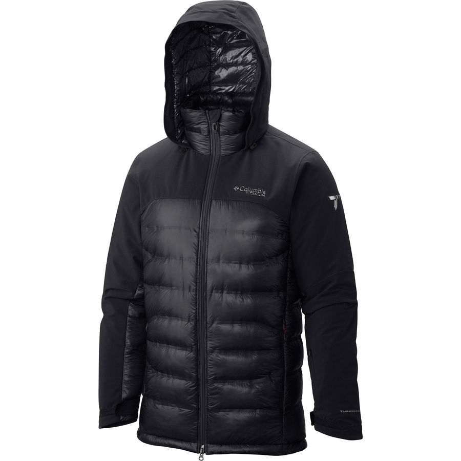 Columbia Heatzone 1000 Turbodown Hooded Jacket - Mens