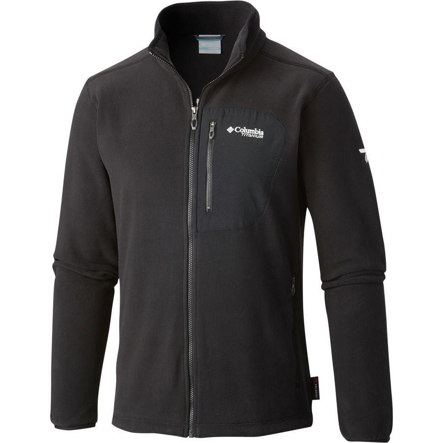 Columbia Titanium Titan Pass 2 0 Fleece Jacket Men S