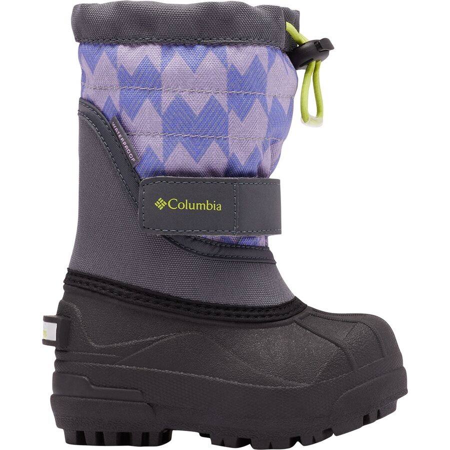 Columbia Powderbug Plus II Print Boot - Toddler Girls