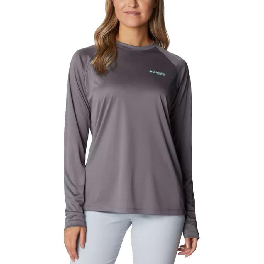 Columbia Tidal Hooded Long-Sleeve T-Shirt - Womens