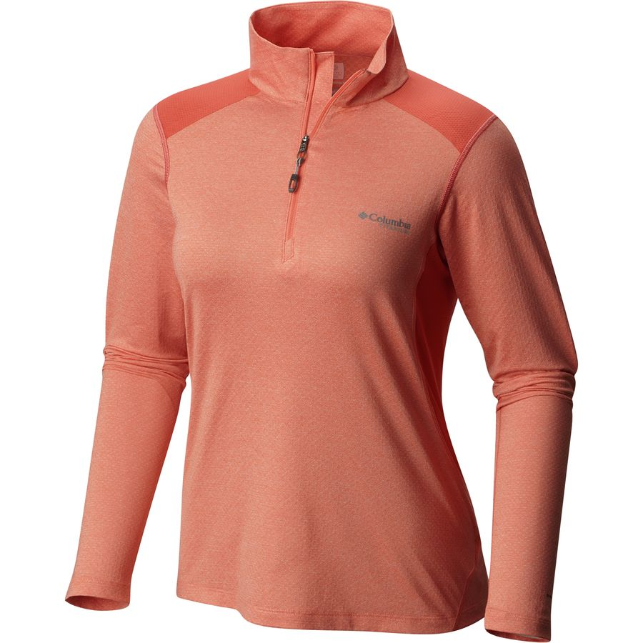 Columbia Titan Ice Half Zip Shirt - Long-Sleeve - Womens
