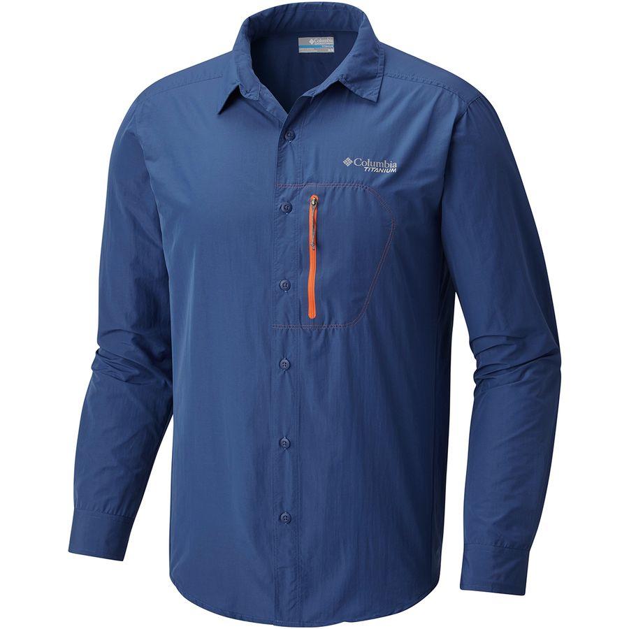 Columbia Titanium Featherweight Hike Shirt - Long-Sleeve - Mens