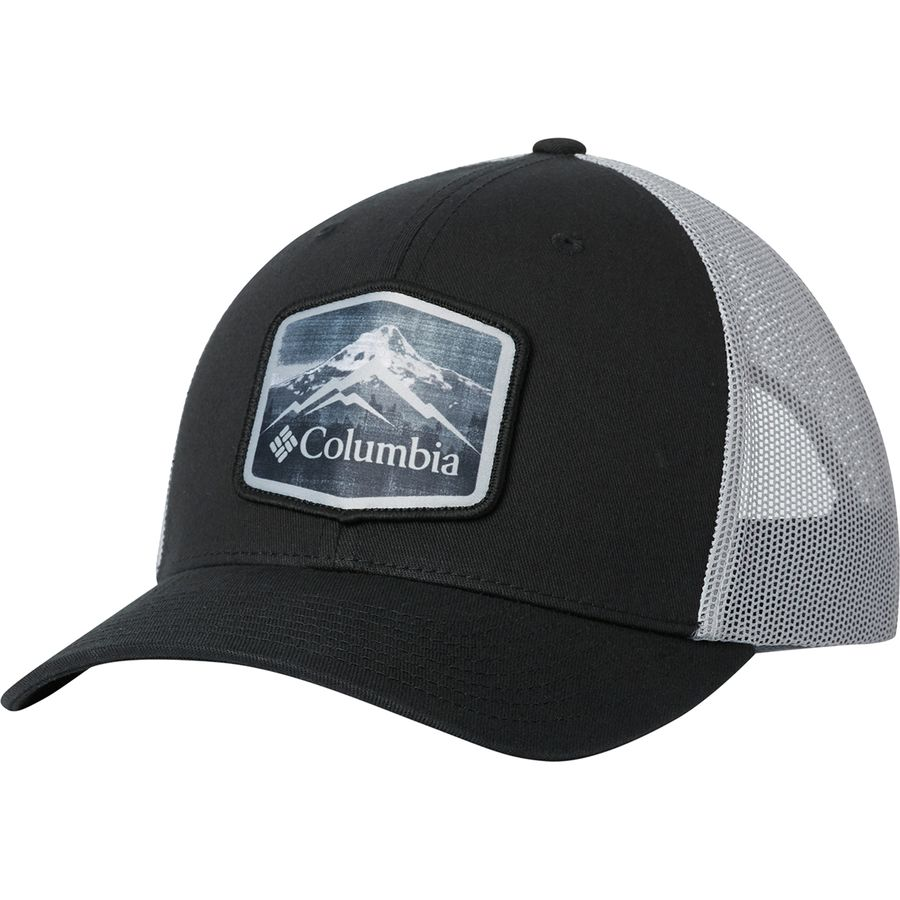 1a7d5a34702 Columbia - Mesh Snapback Hat - Men s - Black Hex Patch