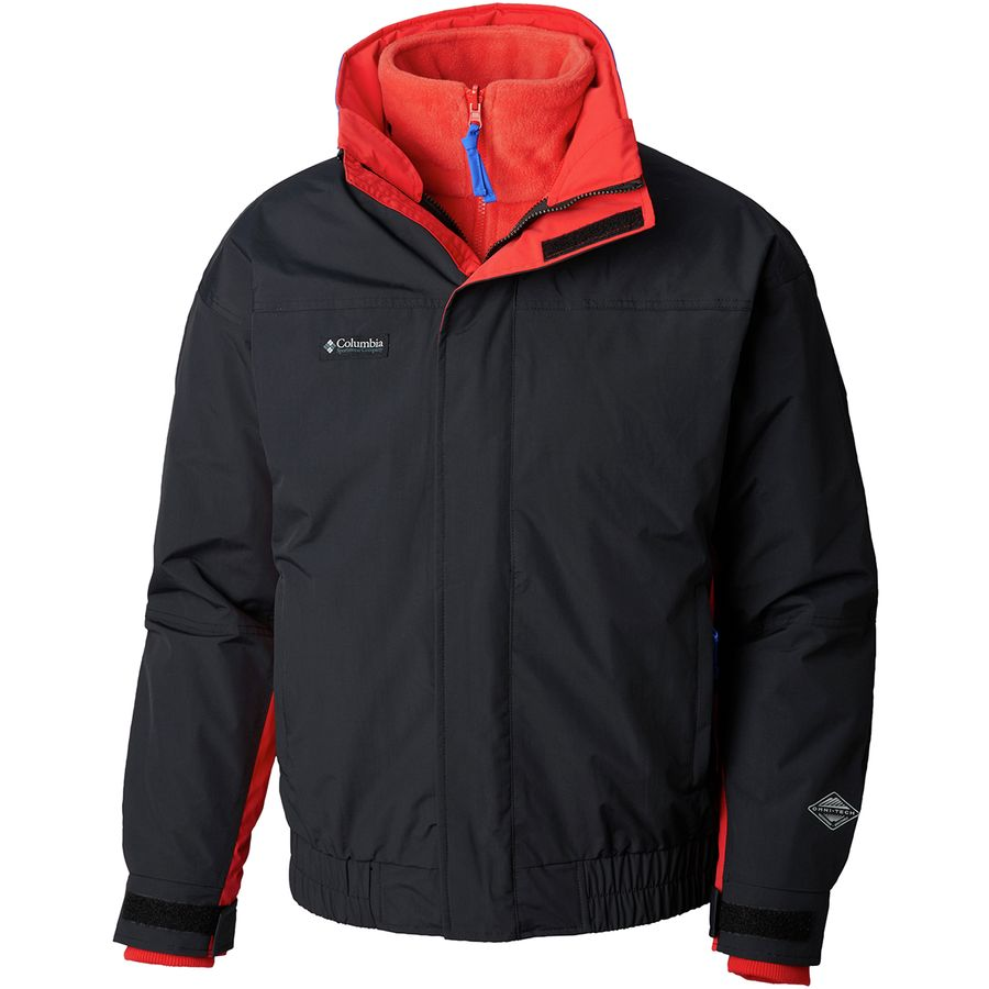 db0bcd4e19e Columbia - PNW Bugaboo 1986 Interchange Jacket - Men s - Black Red Spark