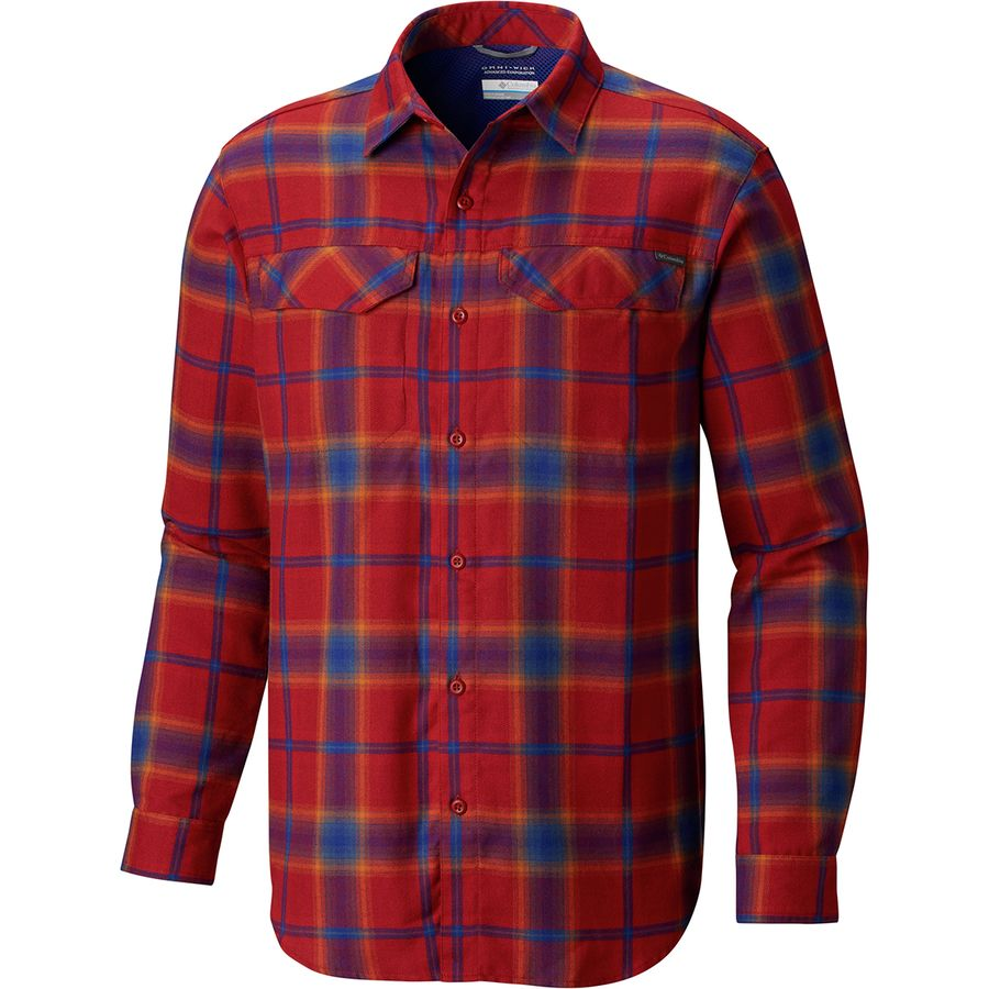 27c8abff6ca Columbia - Silver Ridge Flannel Shirt - Men's - Red Element Plaid