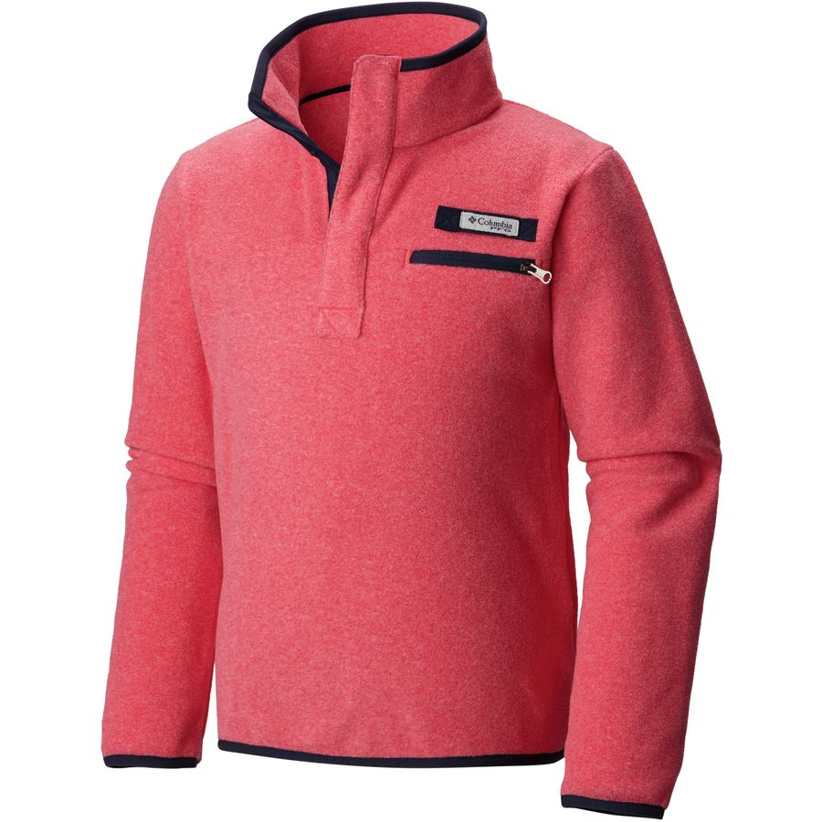Columbia Harborside Fleece Pullover - Girls' | Backcountry.com