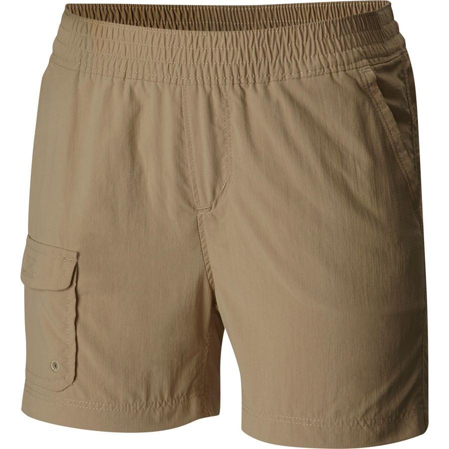 girls tan shorts