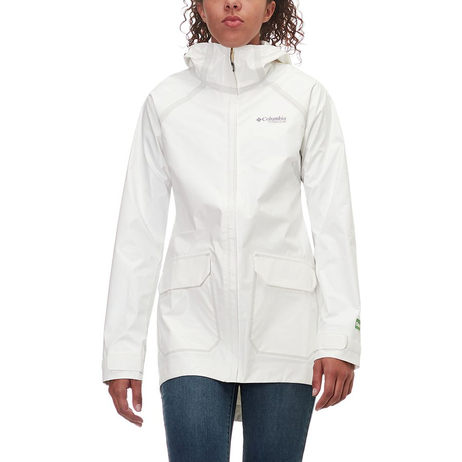Columbia Outdry Ex Eco Fish Tale Casual Shell Jacket - Womens