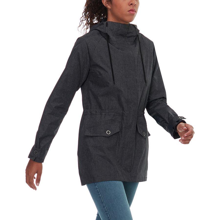 Columbia black omni tech parka jacket