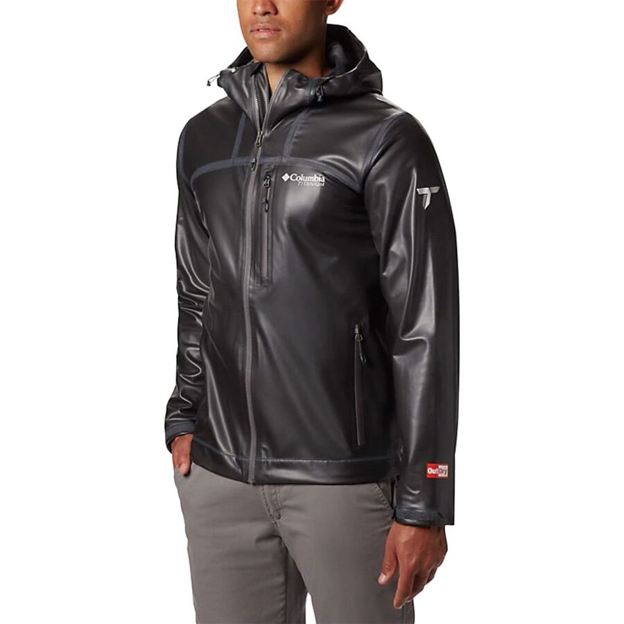 Columbia Outdry Ex Stretch Hooded Shell Jacket - Mens