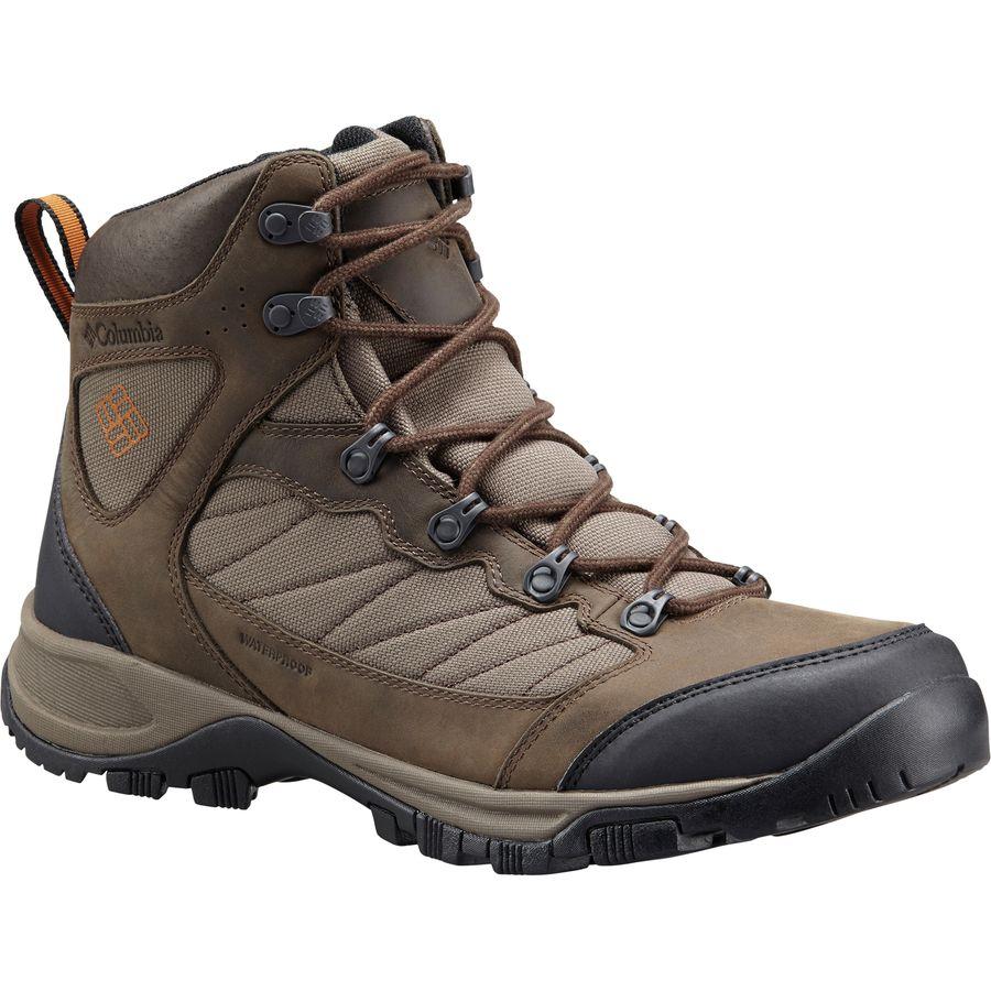 Columbia Cascade Pass Waterproof Hiking Boot - Men's ...