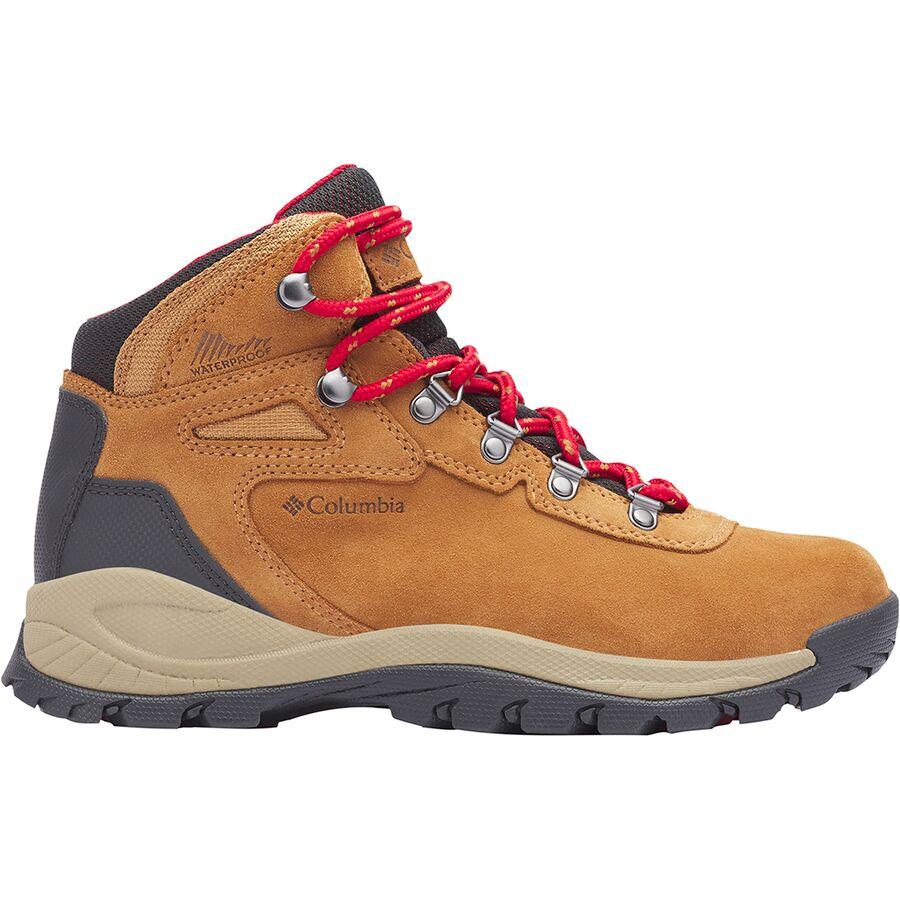 1834066c597a Columbia - Newton Ridge Plus Waterproof Amped Hiking Boot - Women s -  Elk Mountain Red