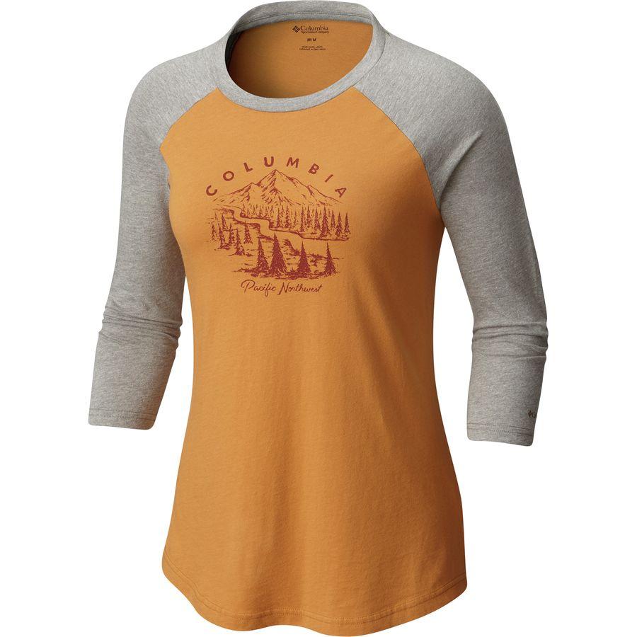 Columbia Mount Tabor Baseball T-Shirt - Womens