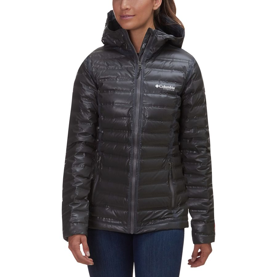 Columbia Titanium Outdry EX Gold Hooded Down Jacket ...