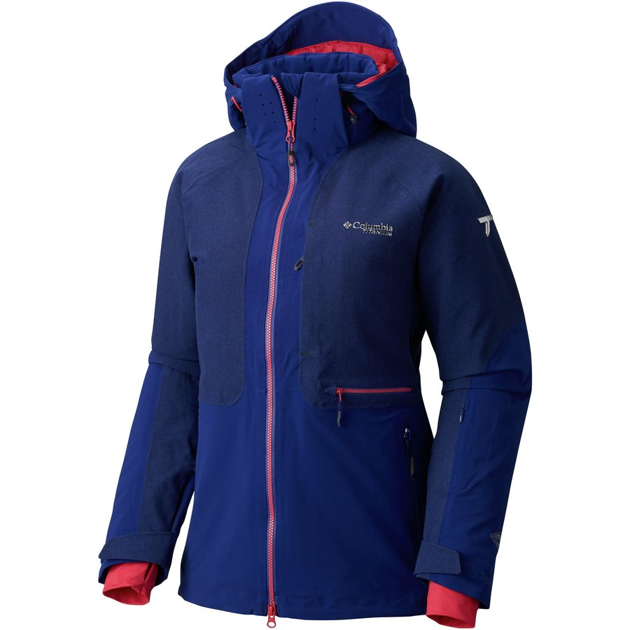 Columbia Titanium Powder Keg Hooded Down Jacket