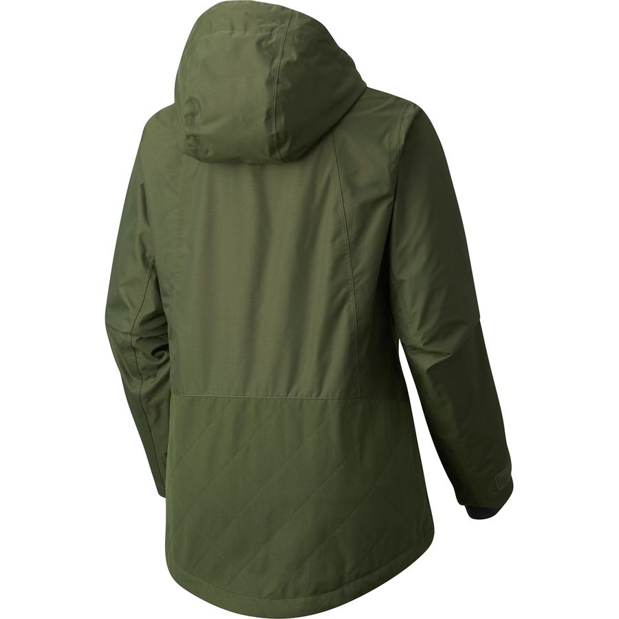 Columbia Catacomb Crest On Snow Anorak Hooded Jacket ...