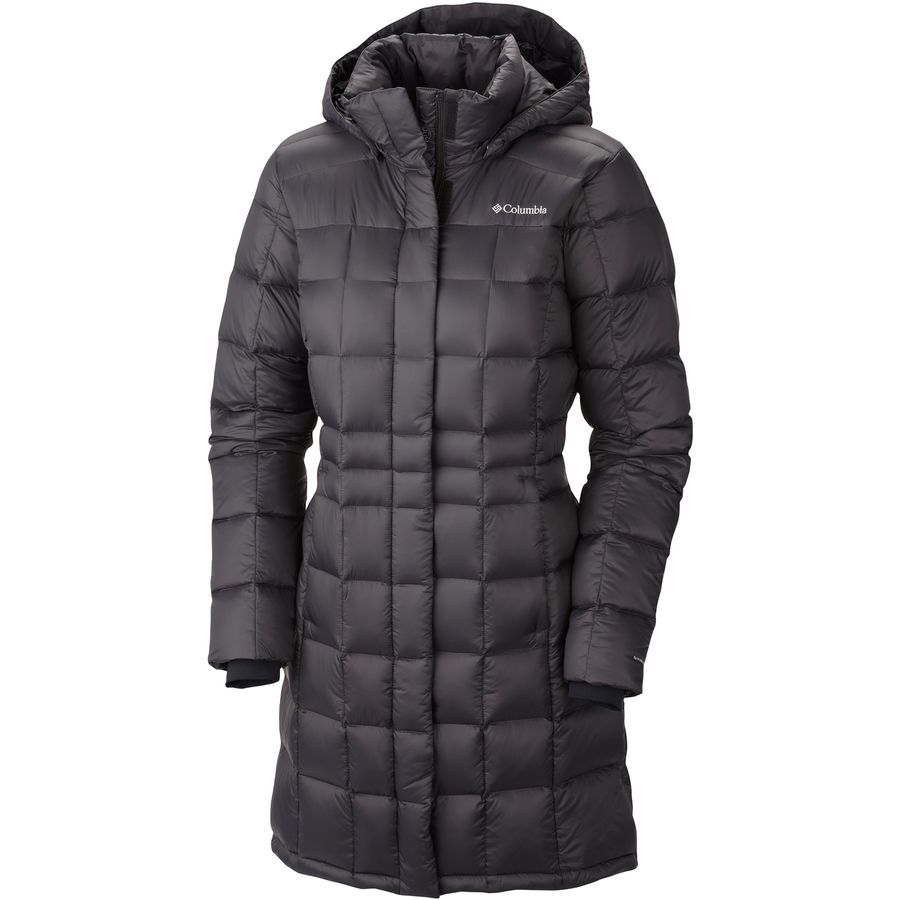 Columbia Hexbreaker Long Down Jacket - Womens