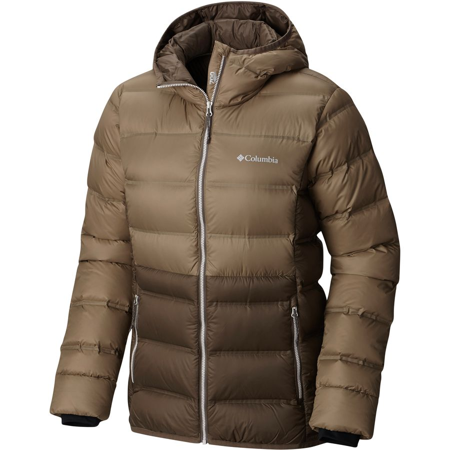 Columbia Explorer Falls Hooded Down Jacket - Womens