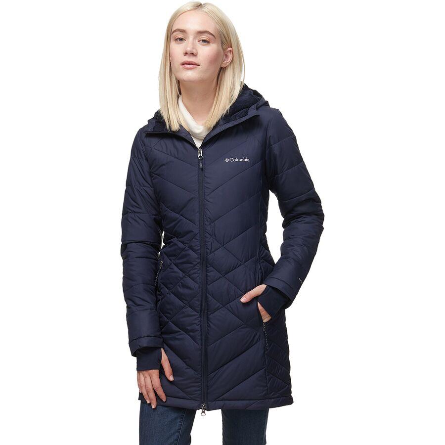 Columbia Heavenly Long Hooded Jacket - Women's ...