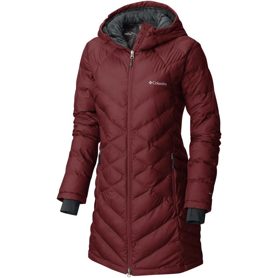 Columbia Heavenly Long Hooded Jacket - Womens