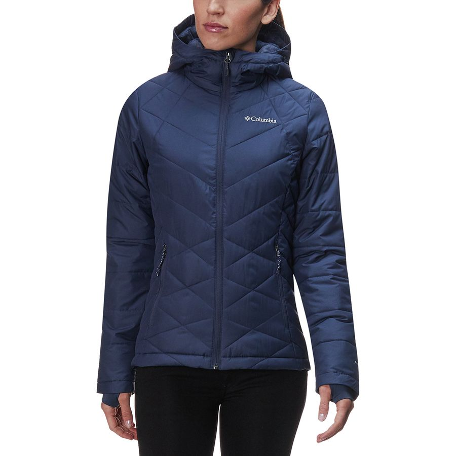 Columbia - Heavenly Hooded Jacket - Women s - Nocturnal a651dce4ce