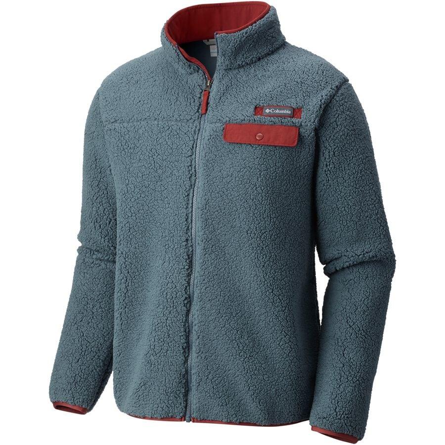 Columbia - Mountain Side Heavyweight Fleece Full-Zip Jacket - Men's -  Mystery/Deep