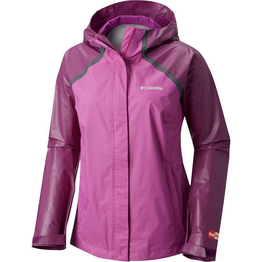 46d0dee718 Columbia - Outdry Hybrid Jacket - Women s - Brght Lavender Intense Violet