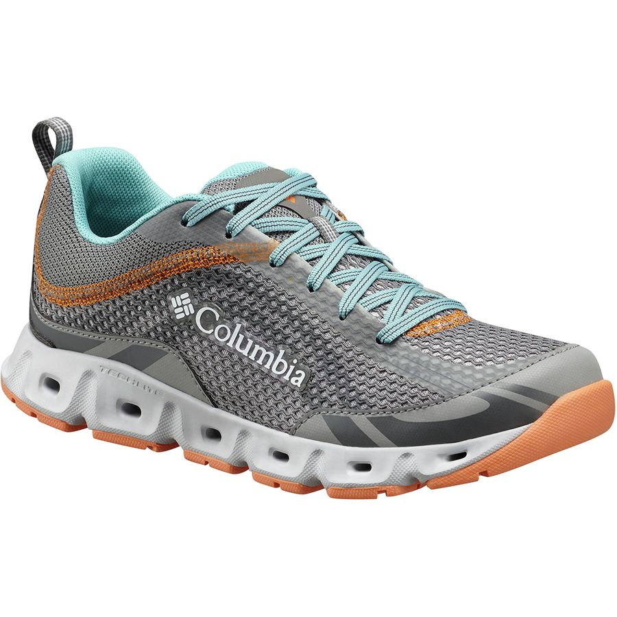 Columbia Drainmaker IV Shoes Women Monument/White US 6 2WDyyf8j