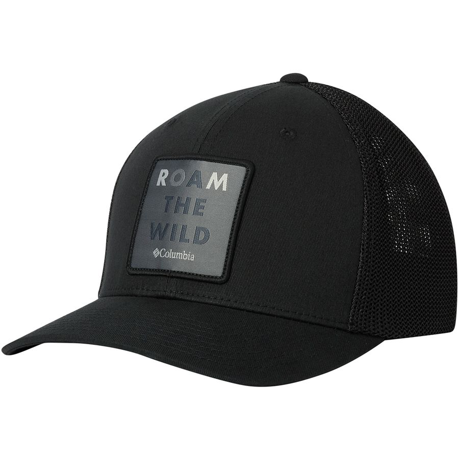 c16953f7897fd Columbia - Trail Ethos Mesh Hat - Men s - Black Roam The Wild