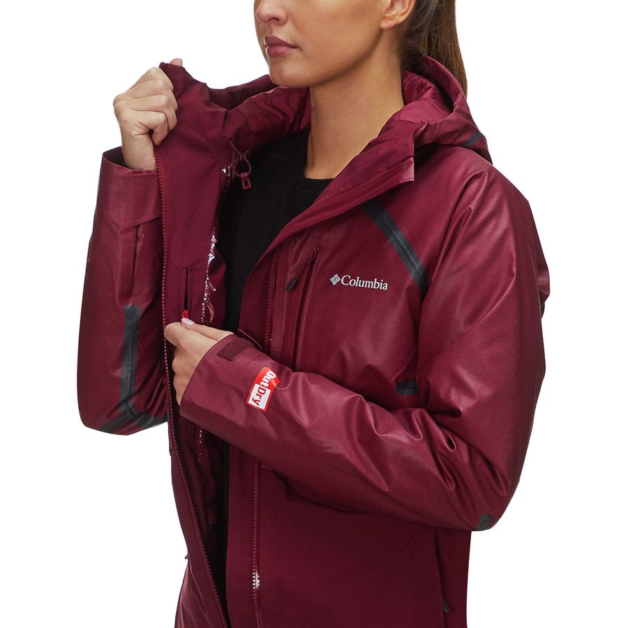 5c338080a3 Columbia Outdry Glacial Hybrid Jacket - Women s