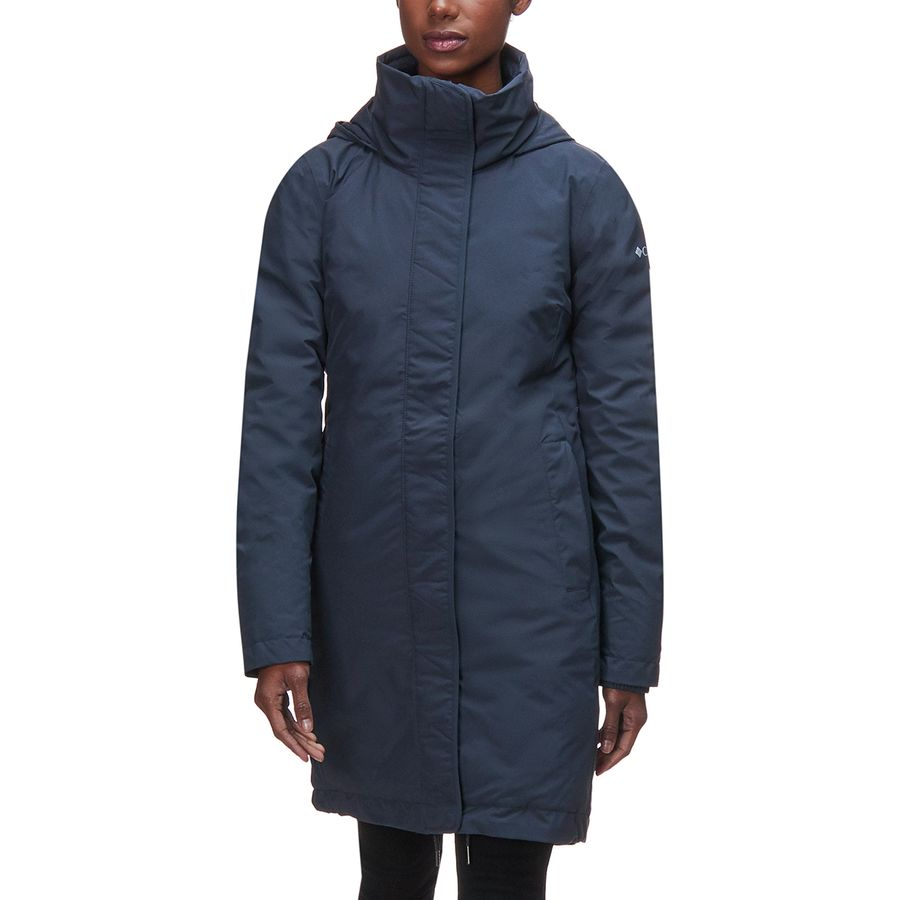 3c730cacae0 Columbia - Hillsdale Reversible Down Parka - Women s - India Ink