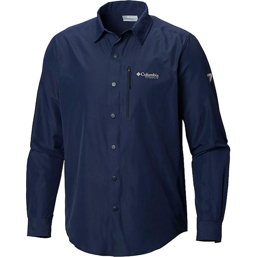 eb747355e39 Columbia - Featherweight Hike II Long-Sleeve Shirt - Men's - Collegiate Navy