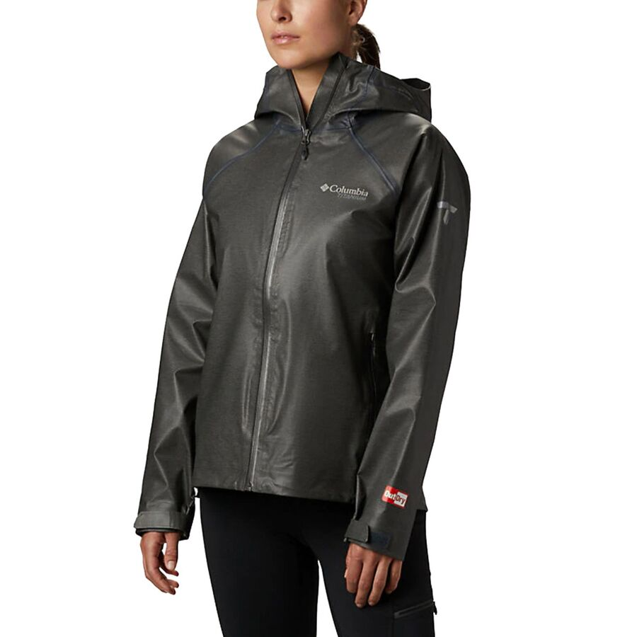Columbia - Titanium Outdry Ex Reign Jacket - Women's - Charcoal Heather