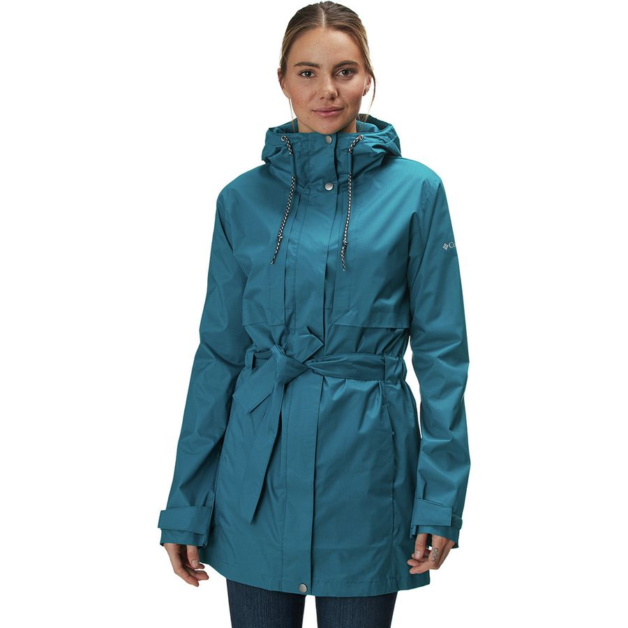 290249984a2 Columbia - Pardon My Trench Rain Jacket - Women s - Siberia
