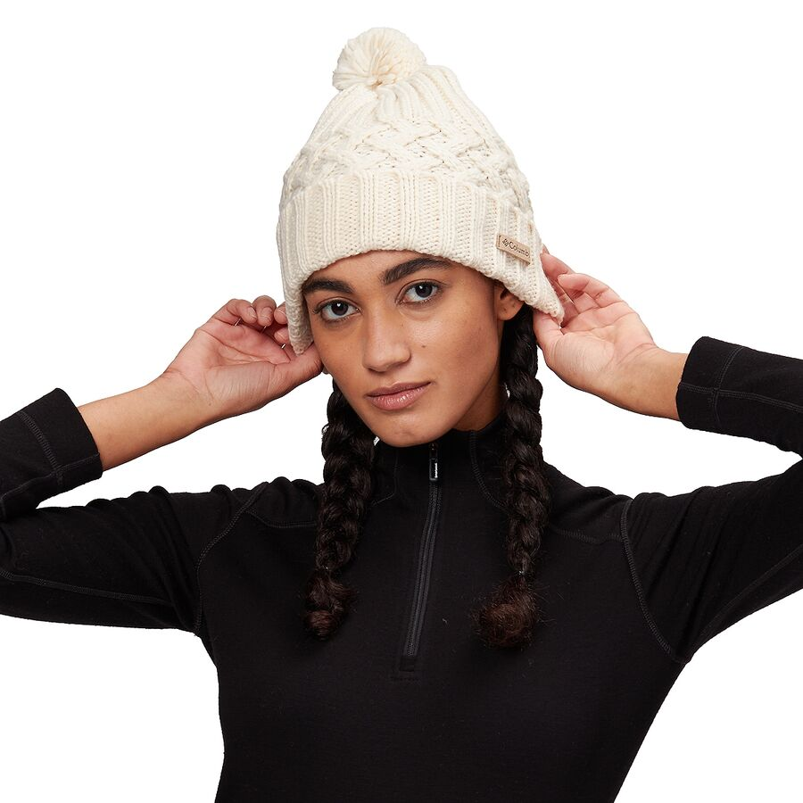 Columbia Hideaway Haven Unlined Pom Beanie - Womens