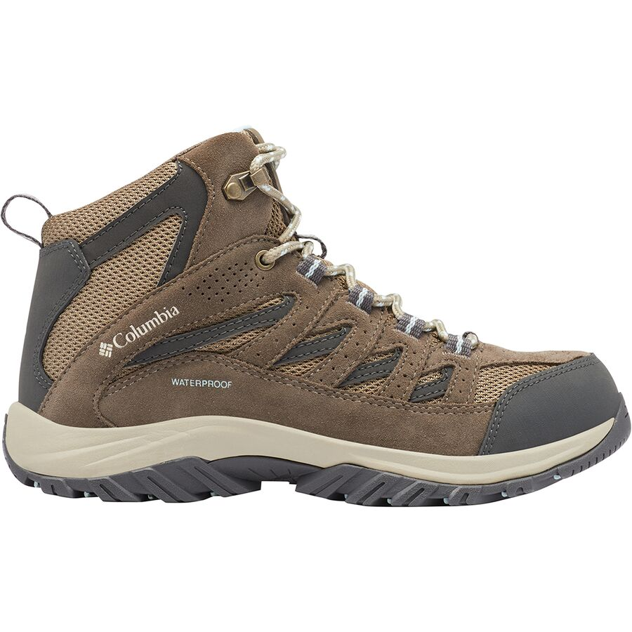 High-Traction Grip Breathable Columbia Mens Crestwood Mid Waterproof Hiking Boot