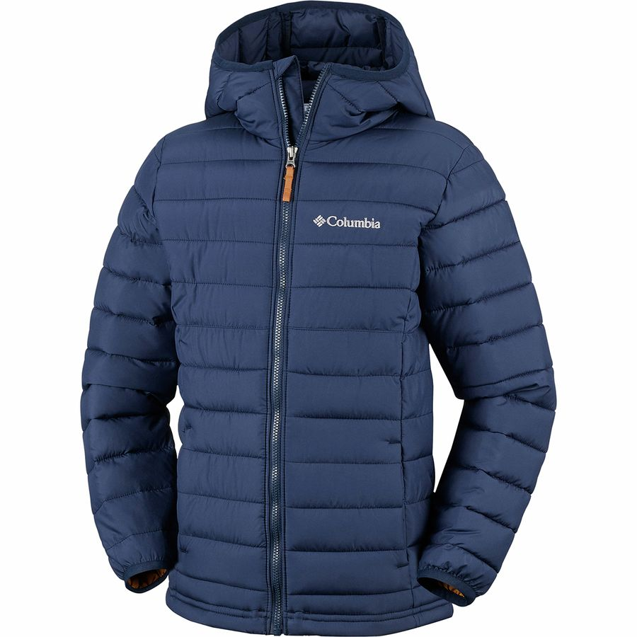 Columbia Powder Lite Hooded Insulated Jacket Boys'