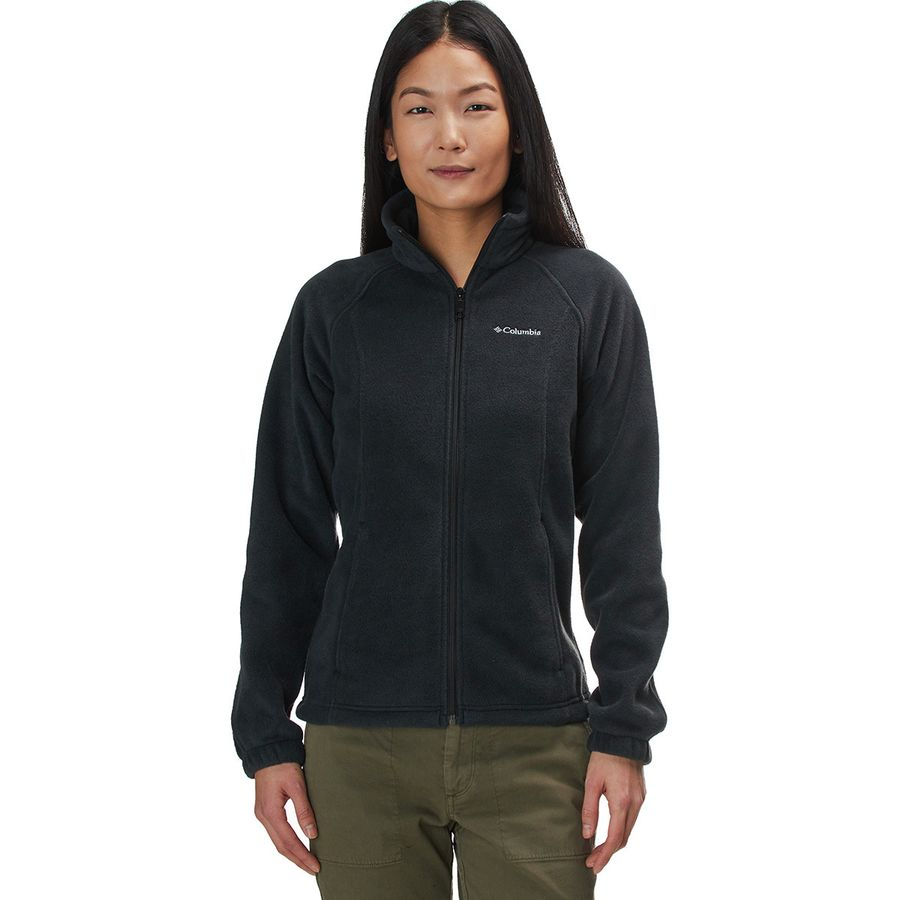5098f194e6cf3 Columbia - Benton Springs Full-Zip Fleece Jacket - Women's - Black