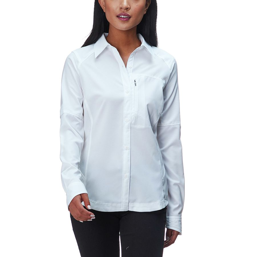 2896811186ebaf Columbia - Silver Ridge Long-Sleeve Shirt - Women s - White