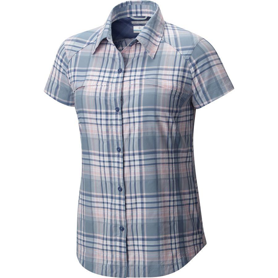 Columbia Silver Ridge Multi Plaid Shirt - Womens