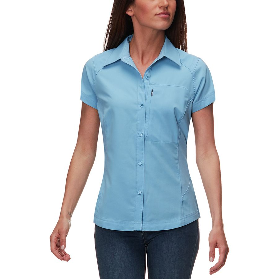 2d0e4b9e883e6 Columbia - Silver Ridge Short-Sleeve Shirt - Women s - Blue Sky