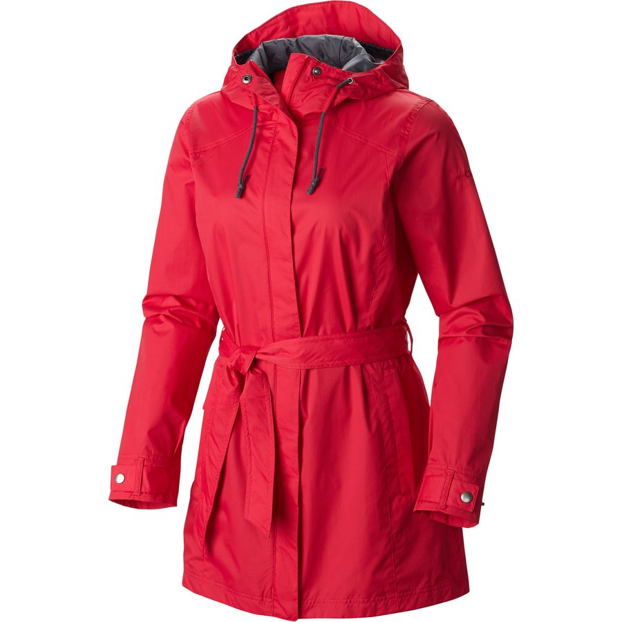 Columbia Pardon My Trench Rain Jacket - Women's | Backcountry.com