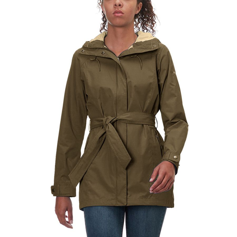 Treated to resist rain and even stains, this hooded trench provides protection all over town. Free shipping for our Rewards Program members/5().
