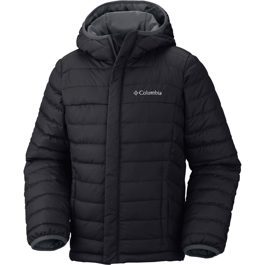 Columbia - Powder Lite Puffer Down Jacket - Boys' - Black