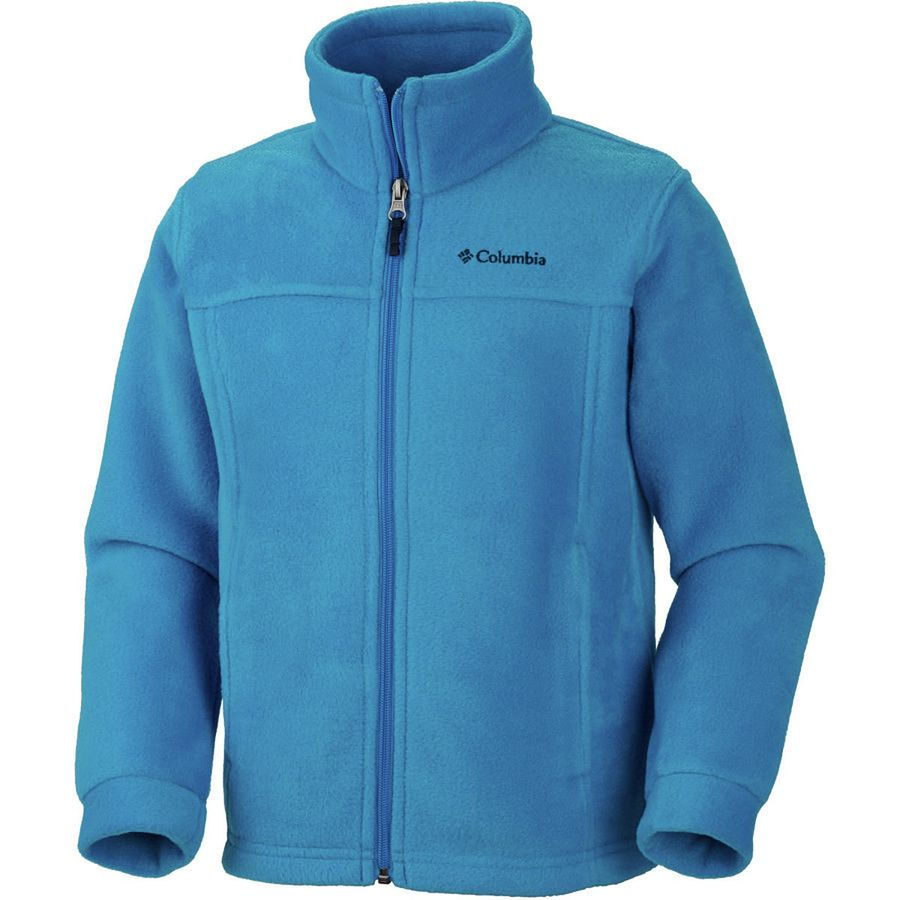 Columbia steens mountain ii fleece jacket toddler boys for Baby fishing shirts columbia