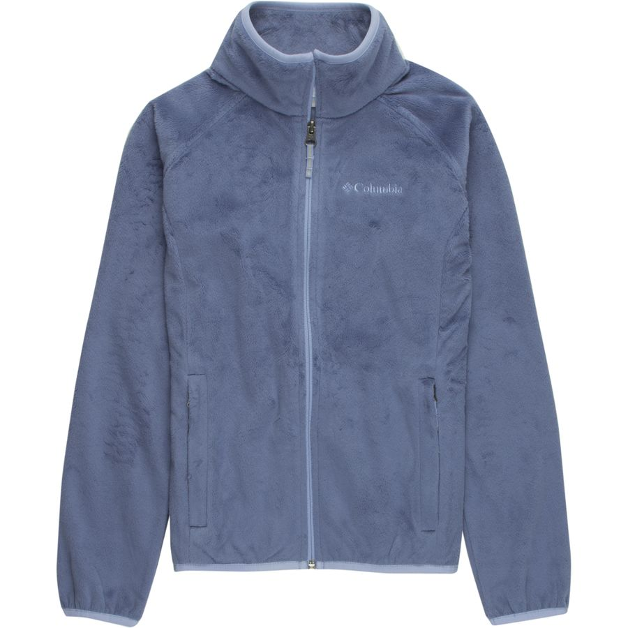 Columbia Pearl Plush Full-Zip Fleece Jacket - Girls' | Backcountry.com