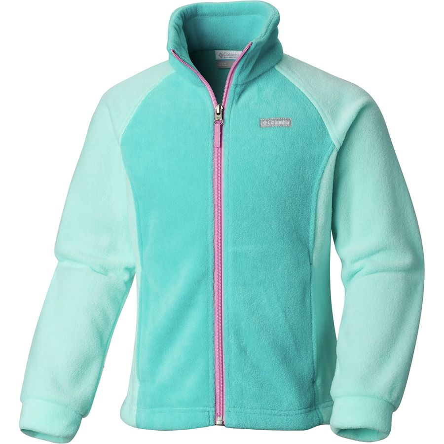 57f3de0d4bf Columbia - Benton Springs Fleece Jacket - Infant Girls  - Geyser Gulf Stream